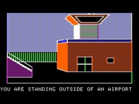 Kabul Spy Walkthrough/longplay (Apple II - Sirius)