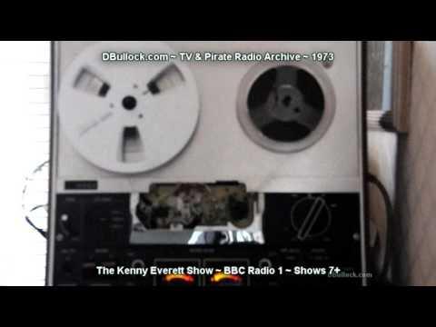 [1973] Kenny Everette Shows #7 to 10 ~ BBC Radio 1
