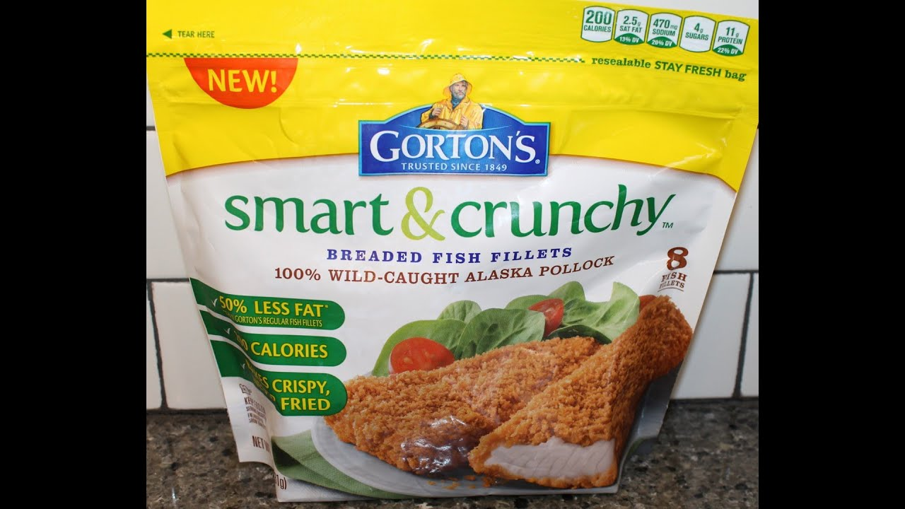 Gorton s smart crunchy breaded fish fillets review youtube for How to make breaded fish