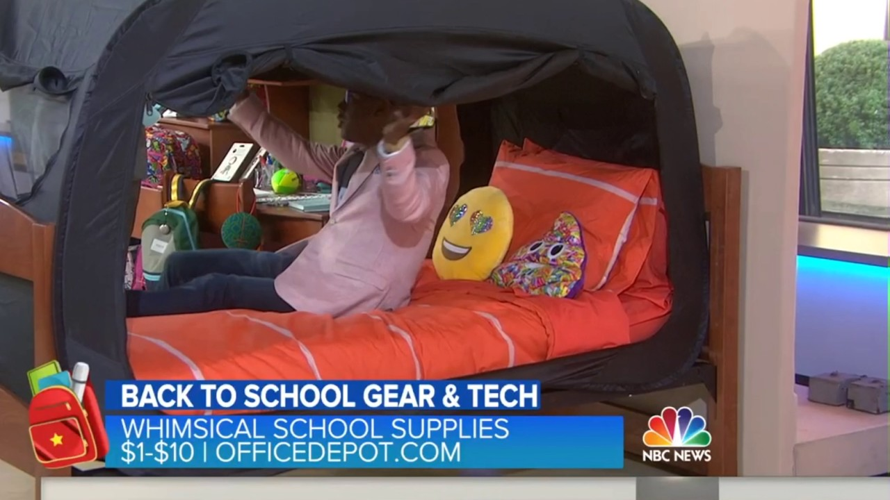 Privacy Pop Bed Tent Part - 18: The Today Show - Privacy Pop Bed Tent