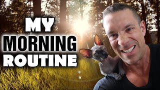 My Morning Routine - Breakfast, My Zoo (Nakie Mating), Responding To Clients, Athleanx, & More!