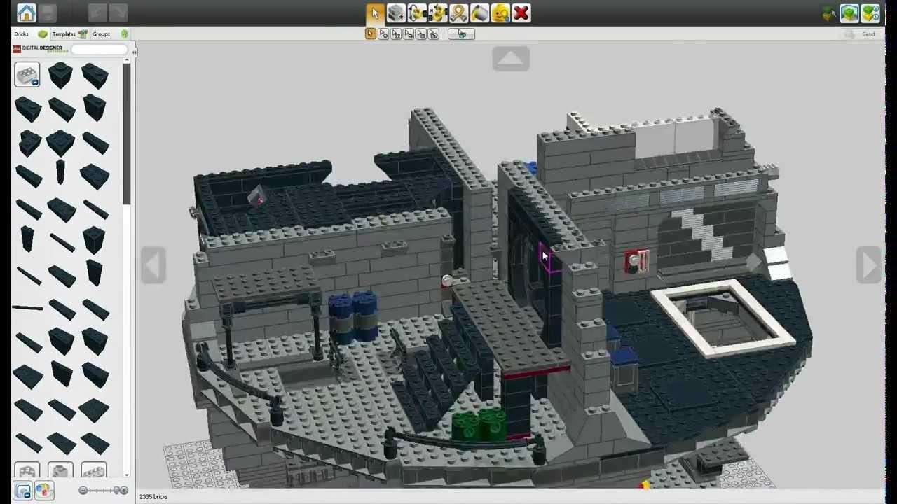 lego digital designer lxf model file