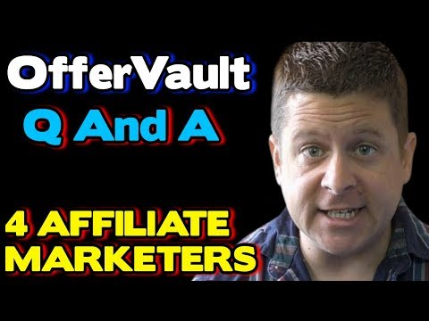 Offervault And CPA Affiliate Marketing - Full Tutorial thumbnail