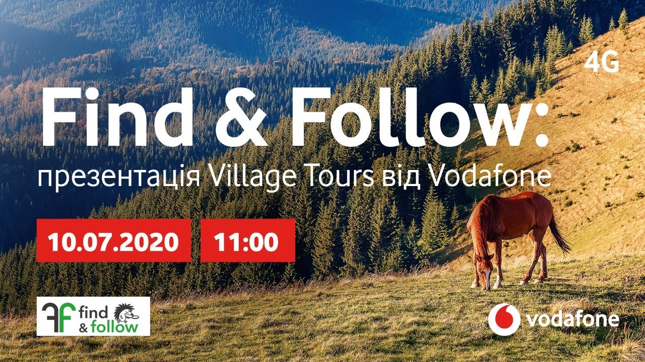 Find & Follow: презентація Village Routes від Vodafone