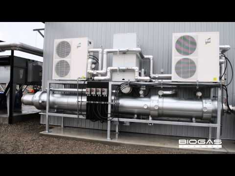 CHP to turn waste into renewable energy in Canada - English subtitles
