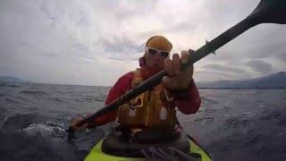 Kayak Around Europe - one minute on water