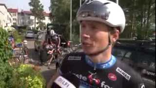 interview with rene mandri before the start of baltic chain tour