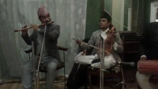 Suna Saili - Flute And Sarangi  सुन साइली बासुरी र सारङी मा Player Hemanta & Ratna