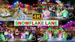 Snowflake Lane Bellevue Washington Christmas Parade 4K UHD