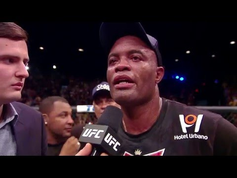 UFC 183: Anderson Silva & Nick Diaz Octagon Interviews