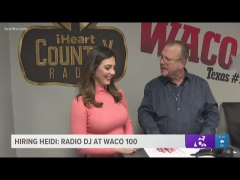 Zack & Jim - KCENs Heidi Alagha used her voice to see if she could get hired by Waco 100