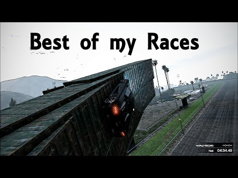 GTA 5: Best of my Custom  Races - Car edition (Ps3 links in description)