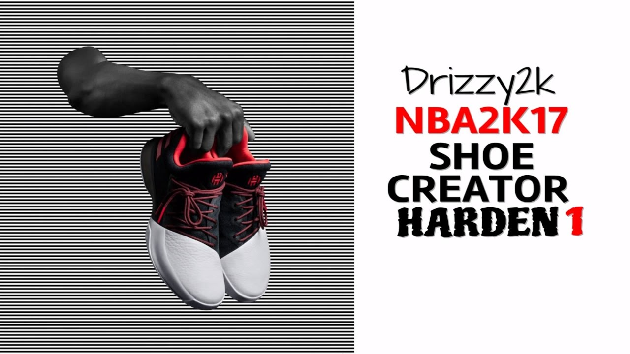 NBA2K17 HOW TO CREATE THE ADIDAS HARDEN 1 FROM SCRATCH | JAMES HARDEN  SIGNATURE SHOE