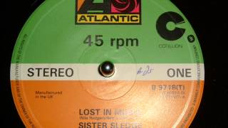 SISTER SLEDGE - LOST IN MUSIC (12 INCH VERSION)