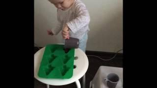 Эксперимент дети раннее развитие зима занимашки ёлка Новый год
