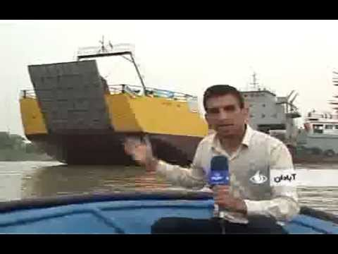 Iran made landing craft 2500 metric Ton لندينگ كرافت 2500 تن