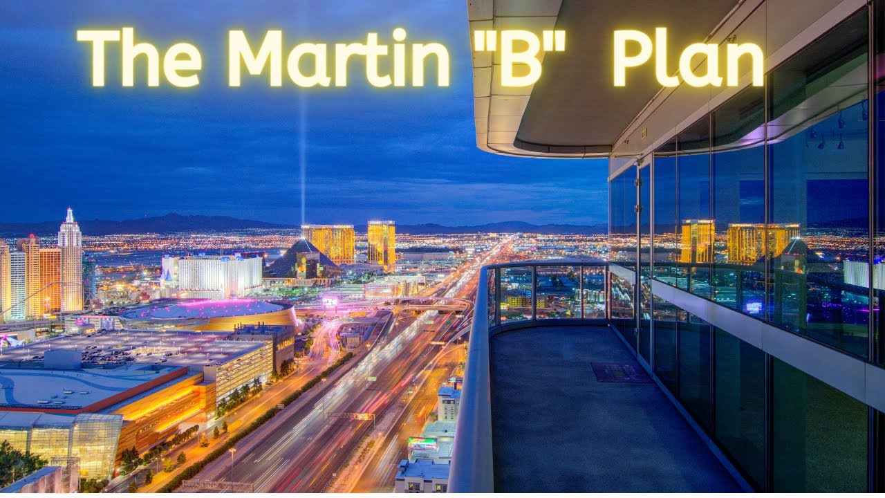 "The Martin Las Vegas ""B"" Plan. Corner Condo W/ Incredible Strip Views! 1652 Sf, 2 BR, 2 BA, $922,500"