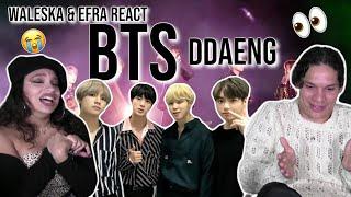 Download BTS' vocal line CAN RAP?! | Waleska & Efra react to BTS - DDAENG LIVE😭👏🤩