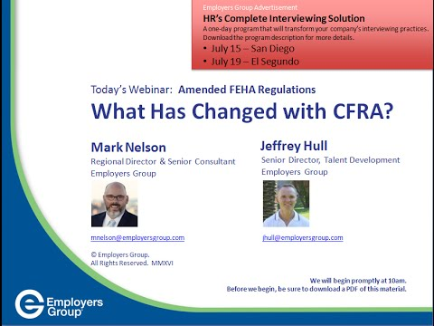 What Has Changed with CFRA?