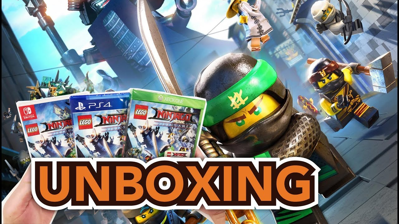 Lego The Ninjago Movie Videogame Ps4xbox Oneswitch Unboxing