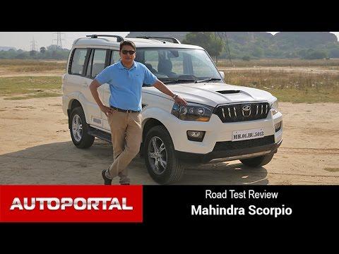 2014 Mahindra Scorpio Test Drive Review - Autoportal