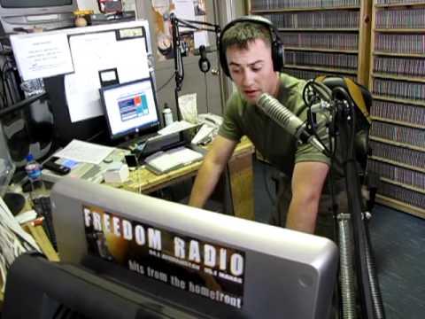 AFN DJ Radio Show in Afghanistan