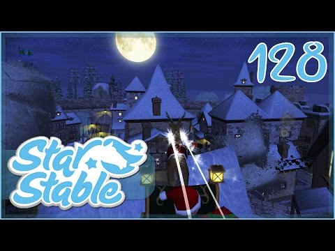 Delivering Late Christmas Presents in Santa's Sleigh!! • Star Stable - Episode #128