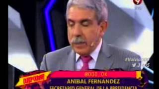 Aníbal Fernández en Duro de Domar 9/2 PT1