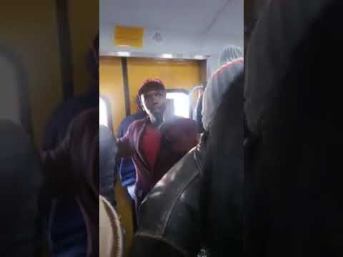 Drama on South African Train