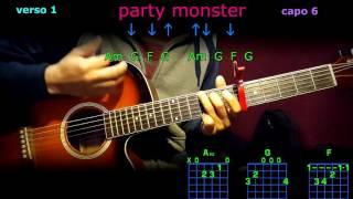 party monster the weeknd acordes en guitarra