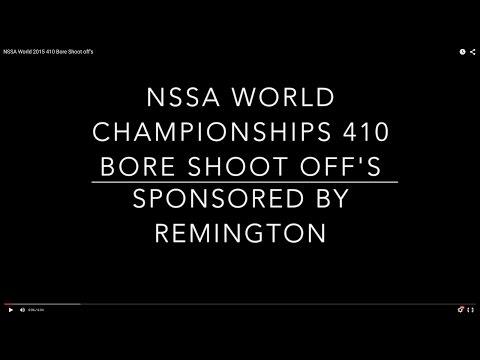 NSSA World 2015 410 Bore Shoot off's