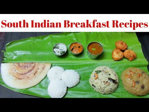 South Indian Breakfast Recipes In Tamil | Easy Healthy And Quick Indian Breakfast Recipes