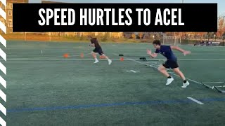Lacrosse Speed and Agility: Speed Hurdles to Acceleration