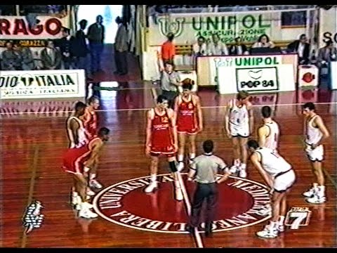 A2 Play out 1991/'92 Pallacanestro Trapani - Turboair Fabriano Basket 84-89