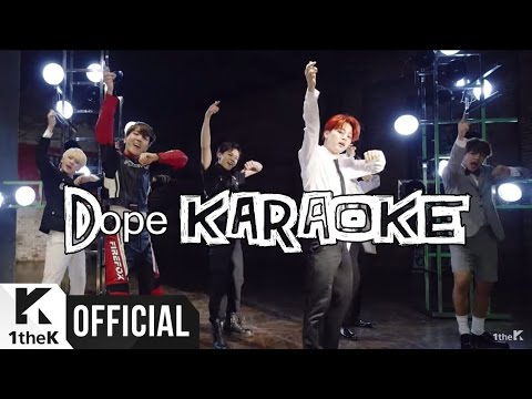 BTS (방탄소년단) - DOPE 쩔어 (Instrumental / off vocal / karaoke)