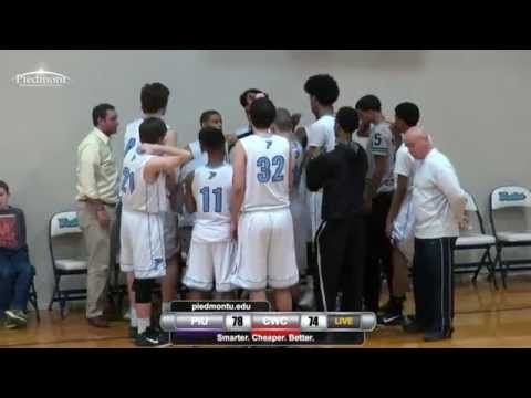 PIU Men's Basketball VS. Clearwater Christian College