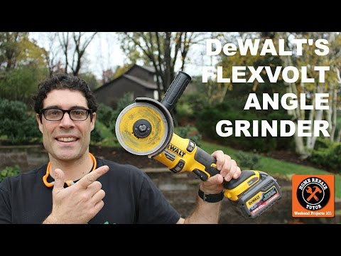 DeWALT FlexVolt Angle Grinder (POWER!!)