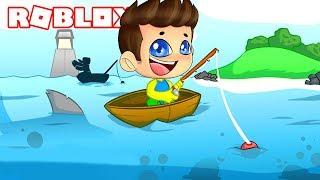 NUEVO SIMULADOR CON PECES SUPER EXTRAÑOS! - Roblox Fishing Empire Simulator