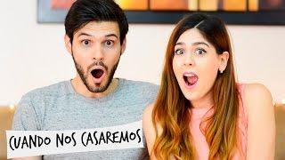 ¿CUÁNDO NOS CASAMOS? FECHA DE LA BODA | #PreguntaleaGrisyCharly | GRIS Y CHARLY