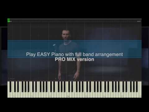 Maroon 5 – Girls like you (EASY Piano Pro Mix Tutorial) - Maximizer