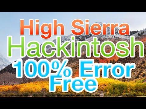 100% Working High Sierra 10 13 Hackintosh | Kaby Lake