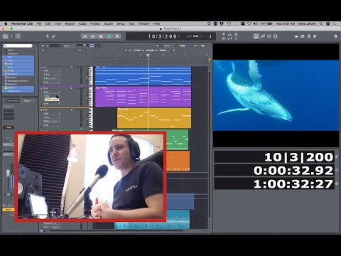 Webinar: creating a film score in Performer Lite