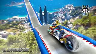 Moto Spider Vertical Ramp Jump Bike (by Great Games Studio) Android Gameplay []