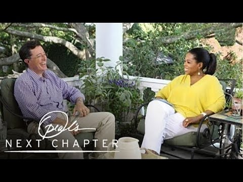 Will the Real Stephen Colbert Please Stand Up? | Oprah's Next Chapter | Oprah Winfrey Network