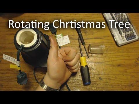 Wal-Mart Christmas Tree Rotator