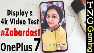 OnePlus 7 - 4K Video & Display Test