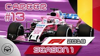 F1 2018 100% Career Ep.13 - Belgium Grand Prix