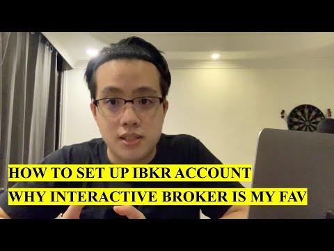 How to Set Up IBKR Investing Account | Interactive Broker Walkthrough