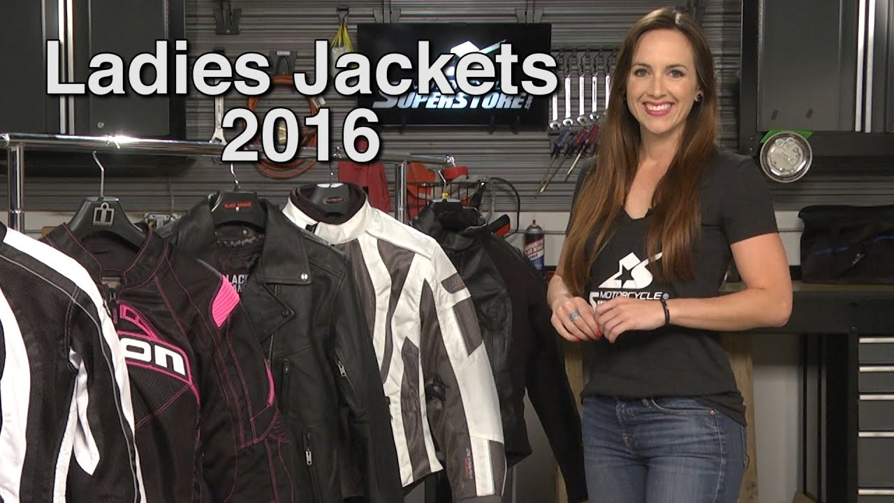 Leather jacket in summer - Favorite Ladies Motorcycle Jackets For Spring And Summer 2016 Motorcycle Superstore
