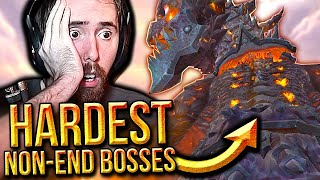"Asmongold Reacts to ""Top 10 WoW HARDEST BOSSES That Were Not End Bosses"" 